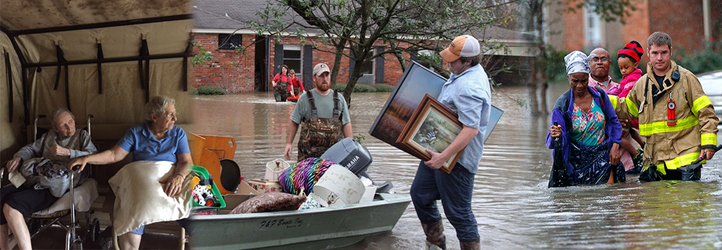 Far-Away Floods Hit Home
